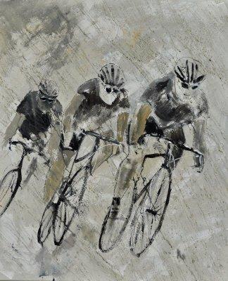 Bikes in the Rain Artist: Pol Ledent