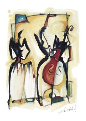 Bongos_Abstract I - Alfred Gockel - AG23