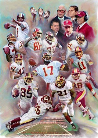 Hail to the Redskins - Artist: Wishum Gregory