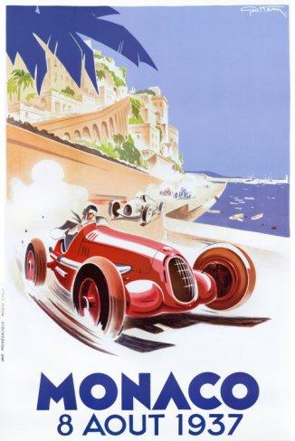Monaco 1937 - Artist: Geo Ham