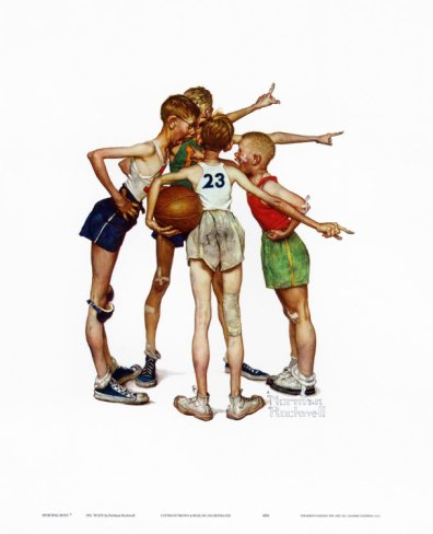 Oh Yeah - Artist: Norman Rockwell
