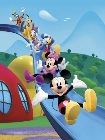 Mickey Mouse Clubhouse: Friends Equals Fun - Art Print