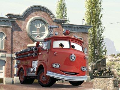 Pixar Red - Art Print