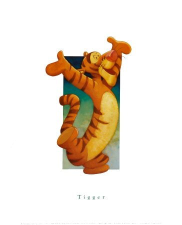 Tigger - Premium Giclee Print